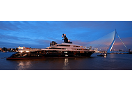 <p>Rena is proud to have contributed to the largest super yacht from the Netherlands. Our Bits2Power control system and custom made LED lighting units give simple control to the integral lighting installation and provide drama and atmosphere with architectural lighting.</p>
