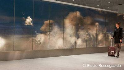 BEYOND: a Wall of Clouds at Schiphol Airport